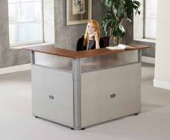 White Salon Reception Desk Small Reception Desk Canada Ikea For Nail Salon Esnjlaw Com
