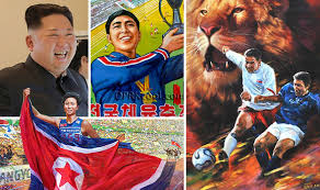 kings offer hope of checking world cup run riot daily mail online north korea news kim jong un propaganda shows world cup winning