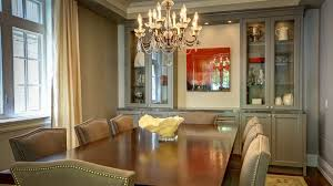 Dining Room Glass Cabinets by Built In Display Cabinets Dining Room Traditional With Built In