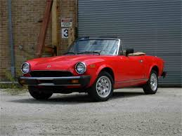 fiat spider 1978 classic fiat spider for sale on classiccars com