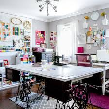 Commercial Fabric Cutting Table The Studio Of Holly Degroot Love The Cutting Table Supported By