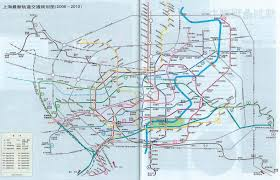 Shanghai Metro Map by Future Lines Wangjianshuo U0027s Blog