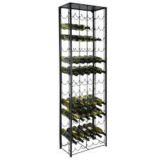Metal Bakers Rack With Wine Storage Stainless Steel Wine Racks U2013 Excavatingsolutions Net