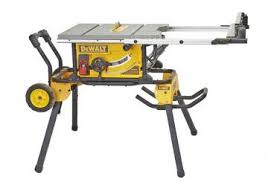 dewalt 10 portable table saw dewalt 10 portable tablesaw with stand dwe7491rs wood magazine
