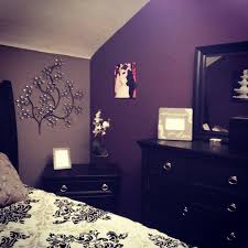 Dark Purple Walls What Color Curtains