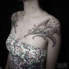 16 ornamental nature themed tats by alexandra tabuns