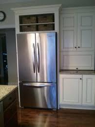 Kitchen Cabinet Depth Small White Kitchens Cabinet Depth Refrigerator Refrigerator