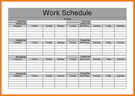 Monthly Work Schedule Template Excel Monthly Work Schedule Template Monthly Work Schedule Template 27