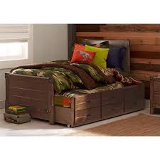 Twin Captains Bed With Drawers Better Homes And Gardens Union Station Twin Captain U0026apos S Bed