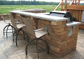 Bbq Patio Designs Outdoor Kitchen Landscaping And Landscape Design For Patio