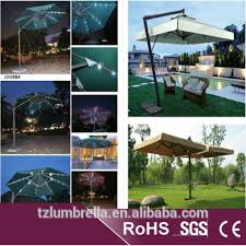 Patio Umbrella Led Lights by Patio Umbrella With Led Lights And Wireless Bluetooth Speaker To