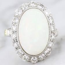 vintage opal engagement rings vintage antique opal engagement rings