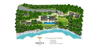 Site Floor Plan by Floorplan The Aquila Phuket