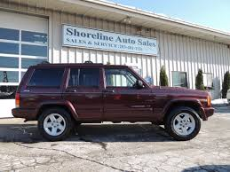 jeep maroon 2000 jeep cherokee limited shoreline auto sales