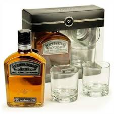 gentleman gift set daniel s gentlemen gift set with 2 glasses mid