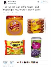 Food St Memes - the starter kit memes and humor