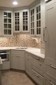 corner kitchen sink cabinet furniture corner sink space optimizing ideas house