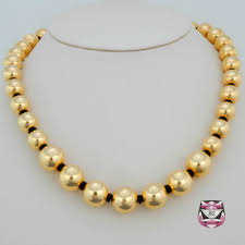 long gold beads necklace images Gold beaded necklace mosaic catering events our rental products jpg
