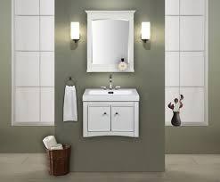 Wall Mount Bathroom Vanities by Kent 24 Inch Wall Mounted Bathroom Vanity Whitewash Finish