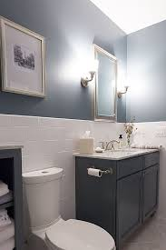 Bathroom Wall Tile Ideas Contemporary Bathroom Half Wall With Tile Bathrooms