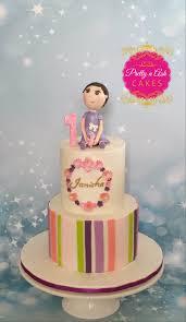 1st birthday toddler cake topper pretty n ash cakes