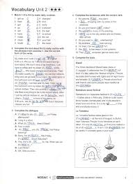 Verb Phrases Worksheets Valme U0027s English Corner 1º Eso Mosaic 1 Unit 2 Worksheets