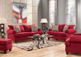 Rooms To Go Living Room Set Love Large Red Furniture For My Living Room I Prefer Red Leather