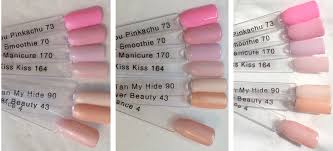 gelish secrets collection from nail harmony uk u2013 part 1 pastels