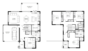double storey 4 bedroom house designs perth apg homes