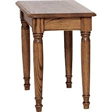 Farmhouse Side Table Country Solid Oak Farmhouse Chair Side Table 15 X 27 The Oak