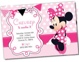 minnie mouse invitations minnie mouse invitations minnie mouse party package by dellaevents