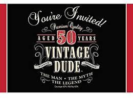 creative corporate invitations amazon com creative converting vintage dude 8 count 50th birthday