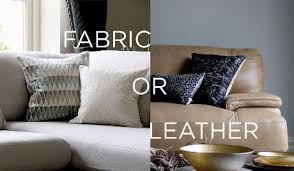 Fabric Or Leather Sofa Fabric Vs Leather Sofas Who Is The Winner Fishpools Lifestyle