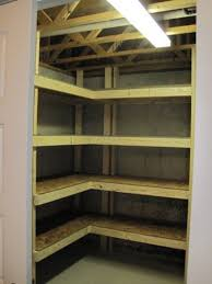Free Standing Wooden Shelving Plans by Best 25 Basement Storage Shelves Ideas On Pinterest Diy Storage