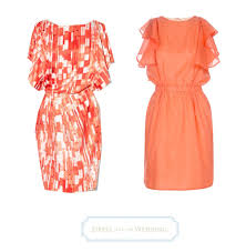 coral dresses for wedding guests coral dresses for wedding