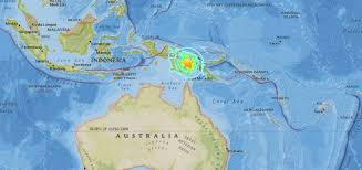 magnitude 7 5 earthquake strikes near porgera papua new guinea