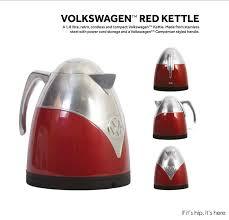 Retro Toaster And Kettle New Volkswagen Camper Van Kitchen Accessories