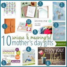 10 unique u0026 meaningful mother u0027s day gift ideas intentional moms