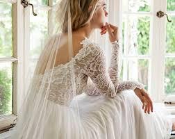 low back bohemian wedding dress open back wedding dress
