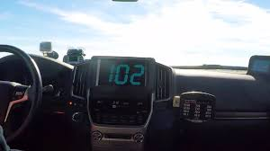a toyota watch a toyota land cruiser hit 230mph drivetribe