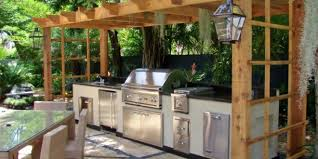 outside kitchen ideas 10 outdoor kitchen plans turn your backyard into entertainment