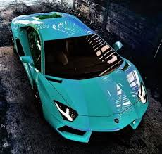 lamborghini car posters jaw dropping blue aventador buy it today ebay com