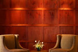Diy Wood Panel Wall by Bathroom Delectable Red Wood Panel Walls Empty Room Stock Photo
