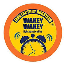 light roast k cups java factory single cup coffee for keurig k cup brewers wakey wakey
