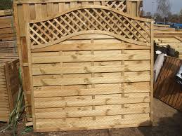 fencing fancy fence panels and trellis posts and gravel boards