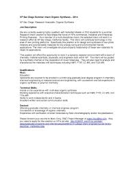 Sample Cover Letter For Phd Application by Grant Writing On Resume Should You Require A Cover Letter Grant