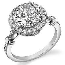 vintage halo engagement rings brilliant antique halo moissanite engagement ring