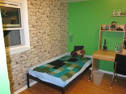 minecraft bedroom ideas bedroom minecraft bedroom ideas natural stone wall wooden