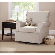 amazon com baby relax swivel glider comet doe color white baby
