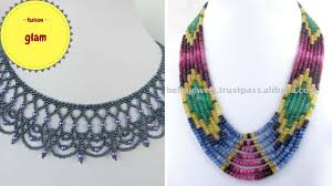 beading necklace images Beautiful 3d beading necklace with beads seeds and bugle beads jpg